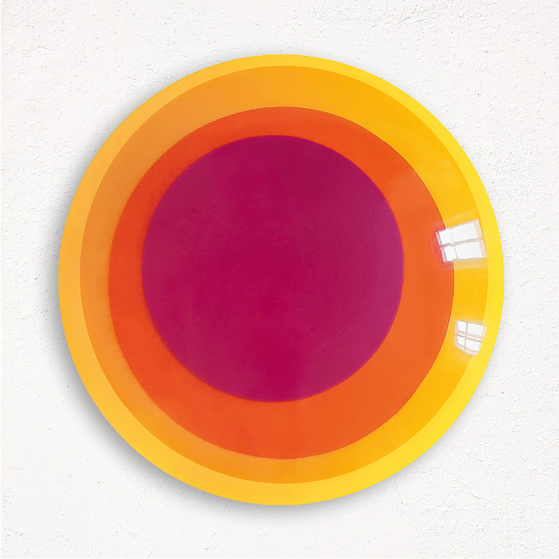 Uta Weber - SWINGING CIRCLES Bei Der Galerie SMOLKA Contemporary